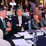 Department of Finance Secretary Carlos Dominguez with U.S. Ambassador to the Philippines Hon. Sung Kim and USAID Philippines Mission Director Dr. Susan Brems at the USAID/SURGE Conference on ...