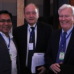 Mayor Ronnel Rivera of General Santos City, Philippines; Maris Mikelsons, USAID/SURGE chief of party; and William Althaus, USAID/SURGE program director, ICMA, at the Conference on Sustainabl ...