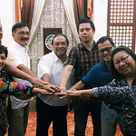 Representatives of the Bohol Provincial Government, the Tagbilaran City Government, and the Bohol Chamber of Commerce celebrate a partnership to formalize their commitment to pursuing inclus ...
